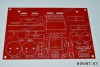 Печатная плата вид сверху | Блок питания SG3525