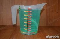 Доводим объем раствора до 1 литра