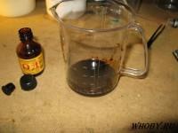 Смешиваем едкий калий и йод