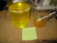 Раствор химического лужения на серной кислоте