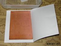 Окисленная после хранения заготовка печатной платы