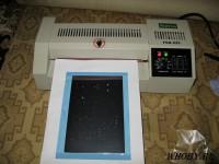Печатная плата | Приклейка фоторезиста ламинатором