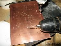 Печатаная плата | Сверление отверстий