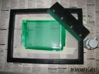 Испытание рамки маской FSR 8000-8G (зеленая).