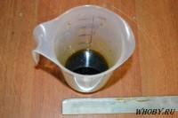 Растор для смывки олова на основе уксуса