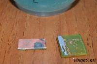 Снятый слой олова с поверхности меди | Раствор для удаления олова