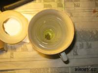 Растворяем серебро в горячей азотной кислоте