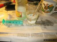 Осадок хлорида серебра