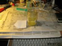 Растворяем калий железистосинеродистый в воде