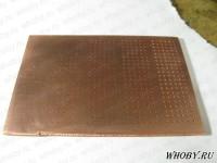 Общий вид металлизированной печатной платы