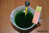 Тестирование медного хлоридного раствора травления