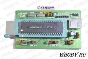 Программирование Atmega 16, 32, 8535 с внешним тактированием