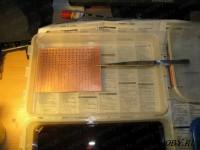Предактивация печатной платы | Металлизация отверстий